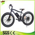 Grasso e bici/grasso pneumatico bici elettrica, 31- 60 km gamma per potenza 500w 48v bici elettrica