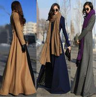 2014 LATEST DESIGN MAXI COAT, LONG WOOL WOMEN WINTER COAT