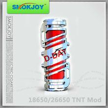 2013 best e-cigarette mechani Smokjoy Original design tnt mod/mechanical mod cooper/mechanical panzer mod