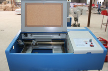 crystal butterfly earrings making machine 30W laser engraving machine KL-460