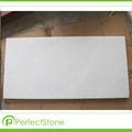 Pulido de mármol blanco puro Vietnam Crystal White cantera de piedra natrual mármol
