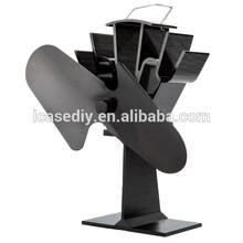 El diseño único liank sf-112 eco- ambiente alimentado de calor del ventilador de la estufa de madera para/de gas/estufas de pellets( plata)