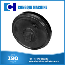 SH120 Excavator and bulldozer front idler, undercarriage parts, spare parts made in China by Congqin