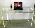 Console table en plexiglas, lucite apprentissag bureau
