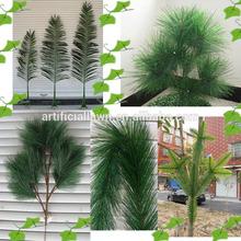 2014 artificial pine tree branch metal christmas tree decoration