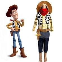Toy Story woody costume characte cowboy woody Mascot costumes boys halloween Sales Cartoon costume