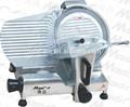 Cuchilla comercial semiautomática de 300 mm para cortar carnes, pan y queso