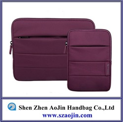 High quality computer bag for ipad in dark purple