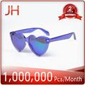 Gafas de moda gafas de sol con el corazón- en forma de, gafas de sol de promoción, baratos gafas