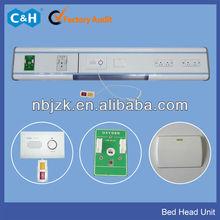 Hospital ward bed head light/medical bed head gas outlet/nurse calling