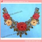 Wholesale low MOQ color lace collar pattern for women