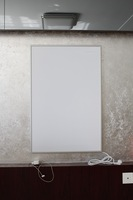 Wall Hung Pictures Carbon Crystal Far Infrared Heater ir panel 500 w
