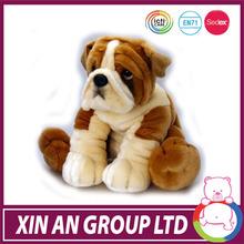 EN71 ICTI SEDEX AUDIT good quality customed fake fur breathing dog