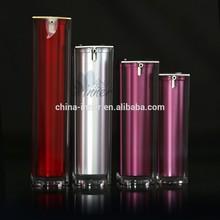 10/20/30/50ml Square serum/lotion/BB cream acrylic cosmetic airless bottle (7207)