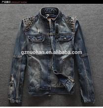a140113 Wholesale fashion Men denim jacket