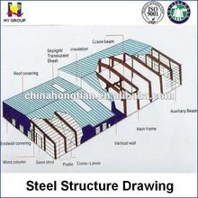 Prefabricated Steel Warehouse Layout Design