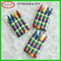 "DIY 5.5"" Wax Color Crayon for kids Drawing"