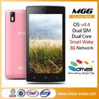 Smart Wake Gesture ! OMES MG6 5 inch IPS Screen Dual Core Quad Core 5MP Camera 3G Cheap android OS 4.4 Kitkat cellphone
