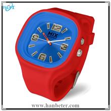 2015 Hotselling Popular Unisex Japan Movement Custom Mix Color Light Watch