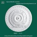 Promotional Villa Decoration Plaster Fiber Ceiling Color Gypsum ornaments