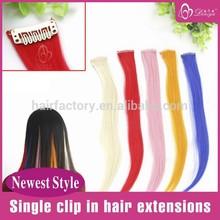 Deniya Fun Color Single Clip In Hair Extension
