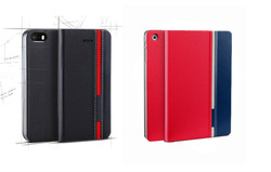 PU leather phone flip cover custom mobile wallet leather case for Sony Xperia Neo mt15i