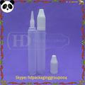 الجملة القلم شكل زجاجة عينة 15ml 15ml ه زجاجة pe السائل