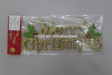 Fashion wholesale English words largescale christmas decoration