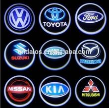 car light ghost shadow light & car logo door light, Support custom design logo with wired