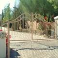 disegno in ferro battuto porta scorrevole di principale maglia recinto di progettazione gate
