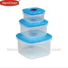 3pcs set houseware vacuum food container