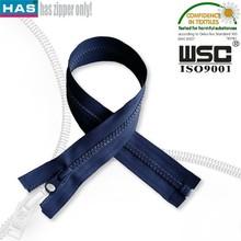 Navy tape NO.5 DTM teeth plastic zipper for bags