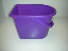 14L high quantity plastic bucket with mop