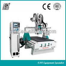 Machine CNC ATC,8 Pieces Knife Capacity Automatic CNC