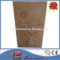 extérieur décoration florale relief sculpture