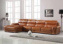 leather corner sofa F07