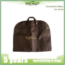 Custom Printed Wedding Dress Garment Bag/garment bag for suits