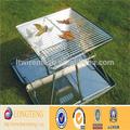 Non- bastone di cottura portatile bbq griglia di copertura