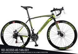 New ariiival road bike male and female cool 21speed 700C road racing bike cheap bike