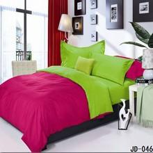 Romantic design Plain color best cotton branded bed sheet