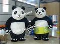 Nice Inflatable Panda Couple Costume for Wedding