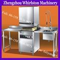 Doble cajón lavavajillas/lavavajillas industriales de la máquina
