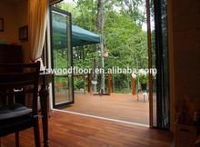 waterproof balcony wood flooring teak