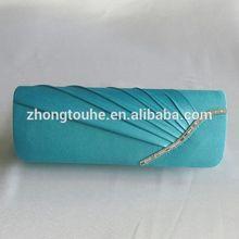 best sell satin clutch handbag