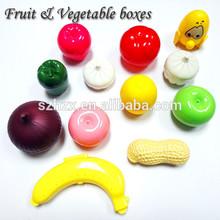 New 2015 popular shenzhen plastic fruit shape box