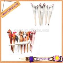 New 2014 novelty for wooden animal shaped pens for children