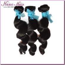Free Sample wholesale loose Wave 100% Virgin Raw queen weave beauty