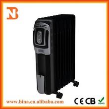 Custom family black 3000w oil radiator heaters