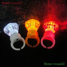 glow led unique wedding rings light box
