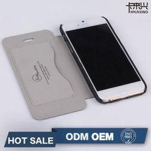 KLX Leather Flip Case Super Soft Fiber For Iphone 6 Case Ultra Armor